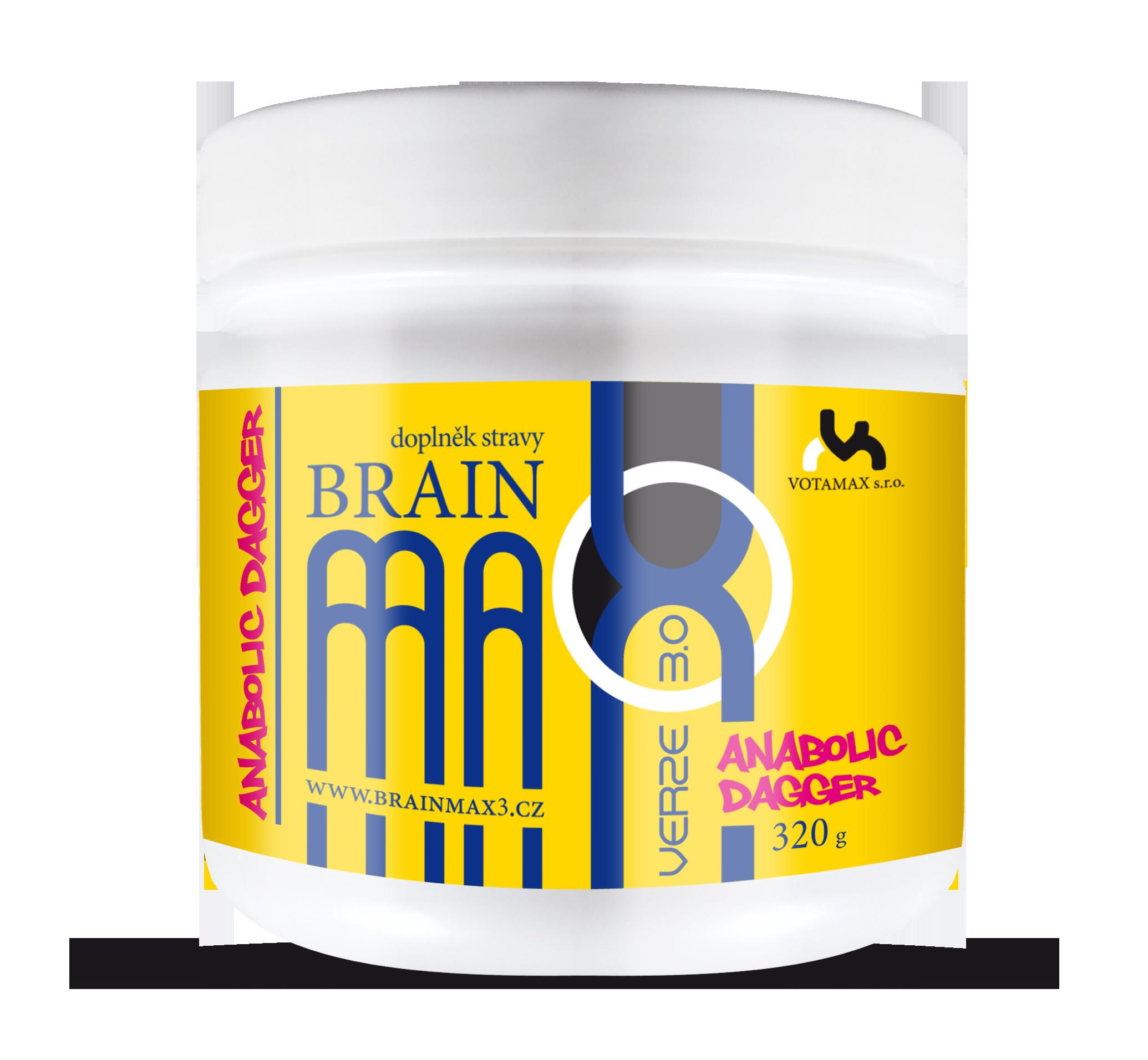 BrainMax 3.0 Anabolic Dagger, stimulant testosteronu